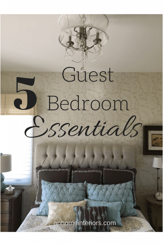 The Guests Are Coming: 5 Guest Bedroom Essentials You Need To Have