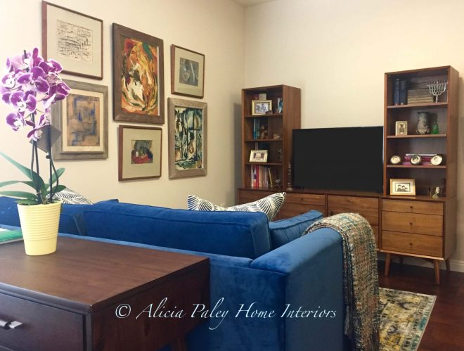 Mid-Century Modern Living Room Interior Design 91360