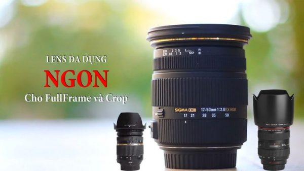 Các lens chụp ảnh đa dụng tốt trong tầm giá cho máy ảnh Crop và Fullframe
