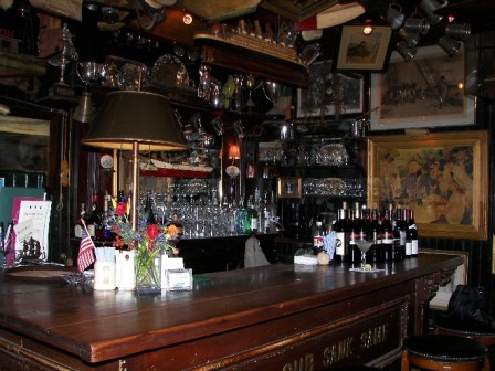 The bar at the BoatHouse
