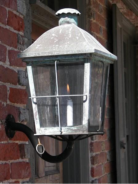 Gas Lamp in New Castle