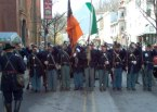 St. Pattys Day civil war brigade