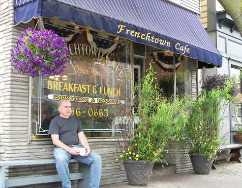 Russ at the Frenchtown Cafe