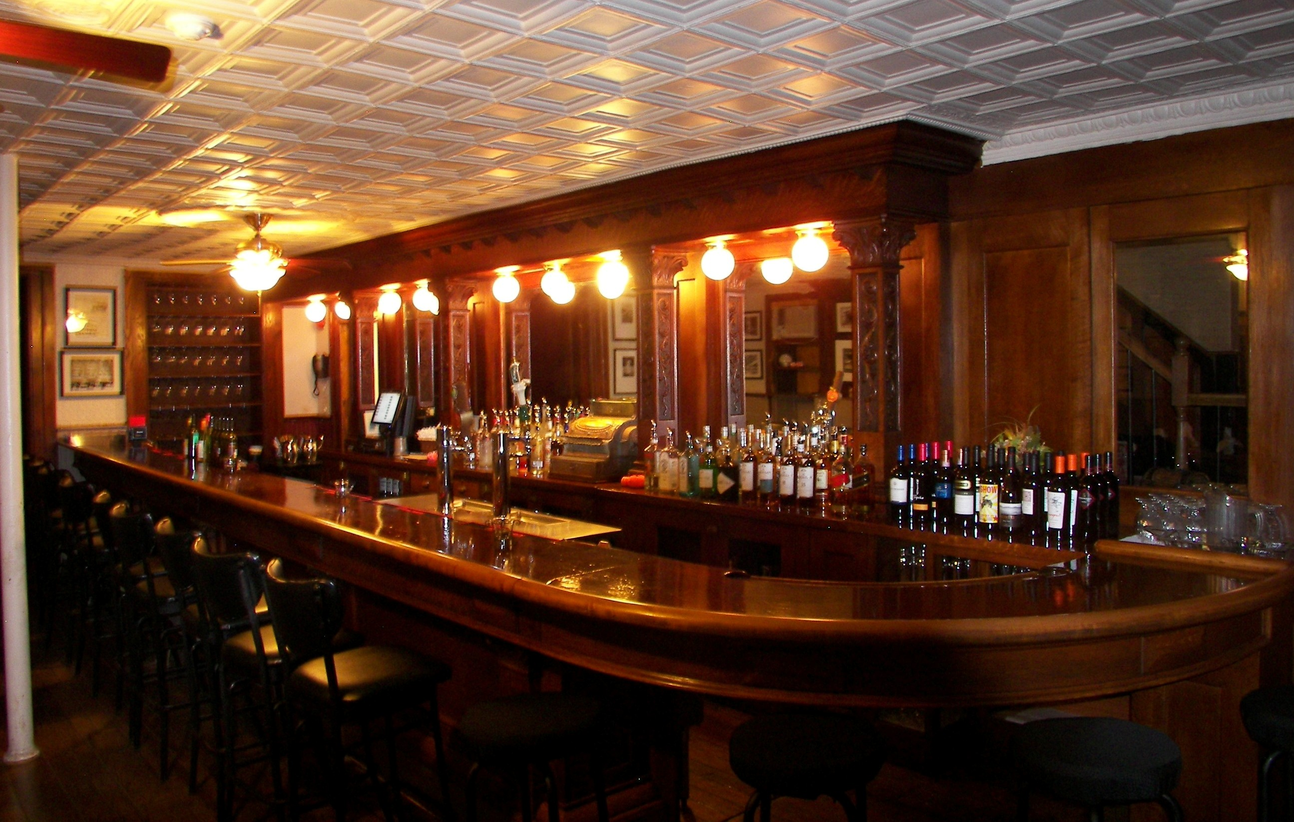The Main Bar at the National Hotel