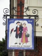 A Man Full of Trouble - Philadelphia