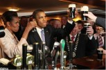 Obama at Ollie Hayes' Pub