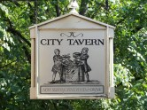 City Tavern Sign