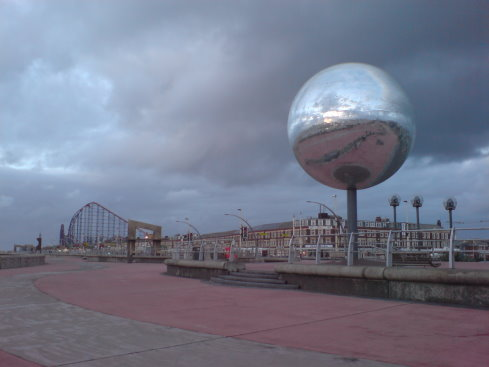 The Largest Glitterball and the Biggest Rollercoaster