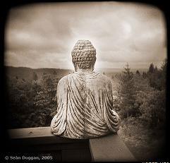 Buddha with View by Sean Duggan