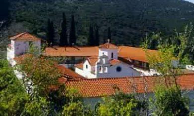 The Monastery of Evangelistria
