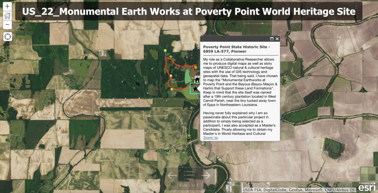 The 22nd US UNESCO World Heritage Site at Poverty Point