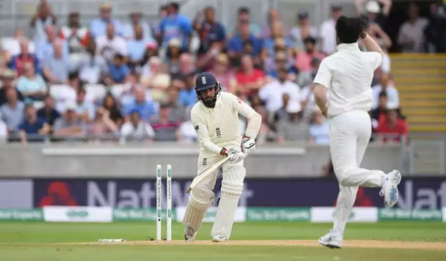 Adil Rashid was involved in a 48-run stand with Curran for the eighth wicket.