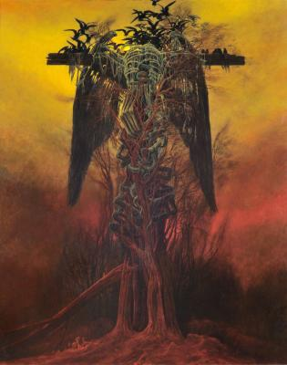 The Cursed Paintings of Zdzisław Beksiński | Article | Culture.pl