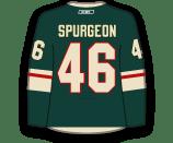 Jared Spurgeon's Jersey