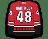 Jordan Martinook's Jersey