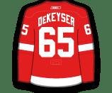 Dan DeKeyser's Jersey