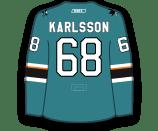 Melker Karlsson's Jersey