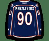 Elvis Merzlikins's Jersey