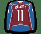 Matt Calvert's Jersey
