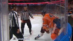 Zack Kassian vs. Matt Calvert