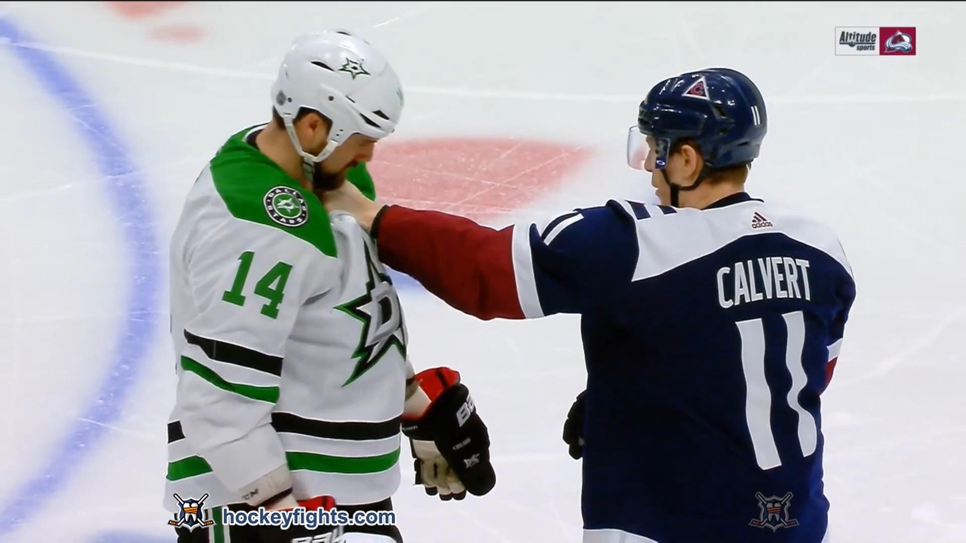 Jamie Benn vs Matt Calvert