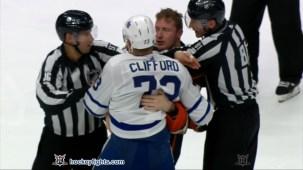 Nicolas Deslauriers vs. Kyle Clifford