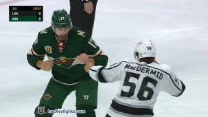 Marcus Foligno vs. Kurtis MacDermid