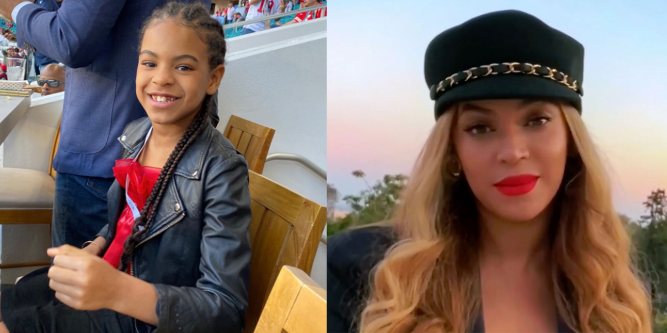 blue ivy carter wants you to wash your