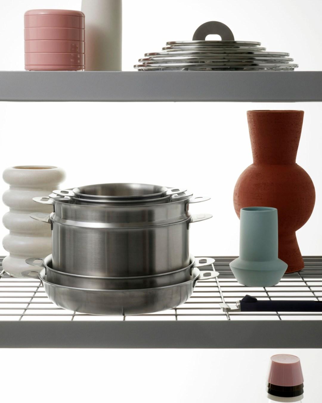 ENSEMBL Stackware cookware and lids