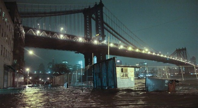 Thanks For Your Good Wishes for New York City (and Me) During Hurricane Sandy.