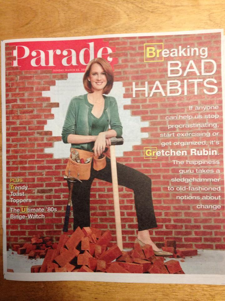 Wow. I Was on the Cover of Parade Magazine.