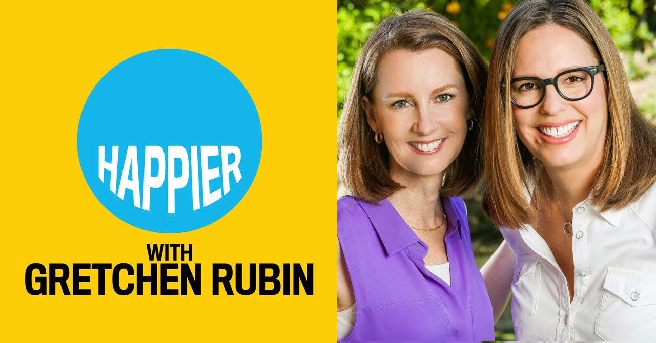 Gretchen Rubin- Podcasts to listen to for personal growth