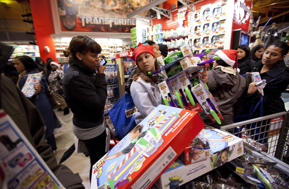 5 Tips for Not Over-Spending — on Black Friday, or Any Other Time.