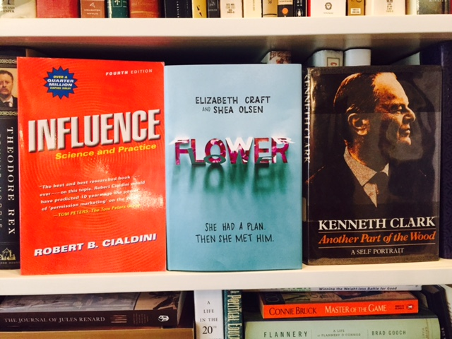 Revealed! Three Excellent Books for April: How to Influence Others, a Romance, and an Art-Filled Memoir.