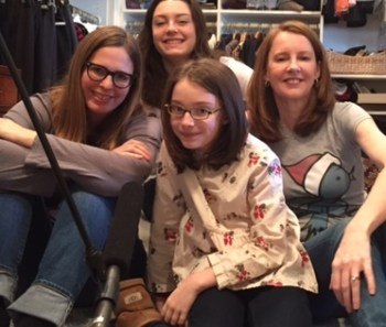 My daughters Eliza & Eleanor were guests on a Very Special Episode.