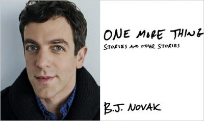 A Little Happier: Actor B. J. Novak's Memorable Expression of Gratitude to Two Guys from Grade School.
