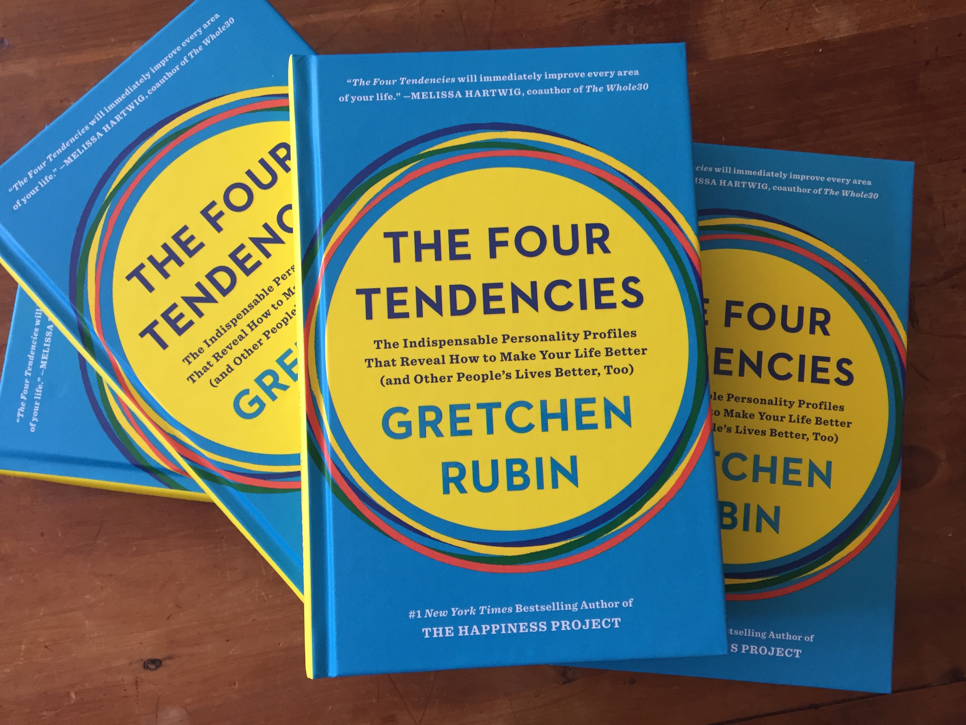 "Today Is the Big Day! My Book ""The Four Tendencies"" Hits the Shelves."