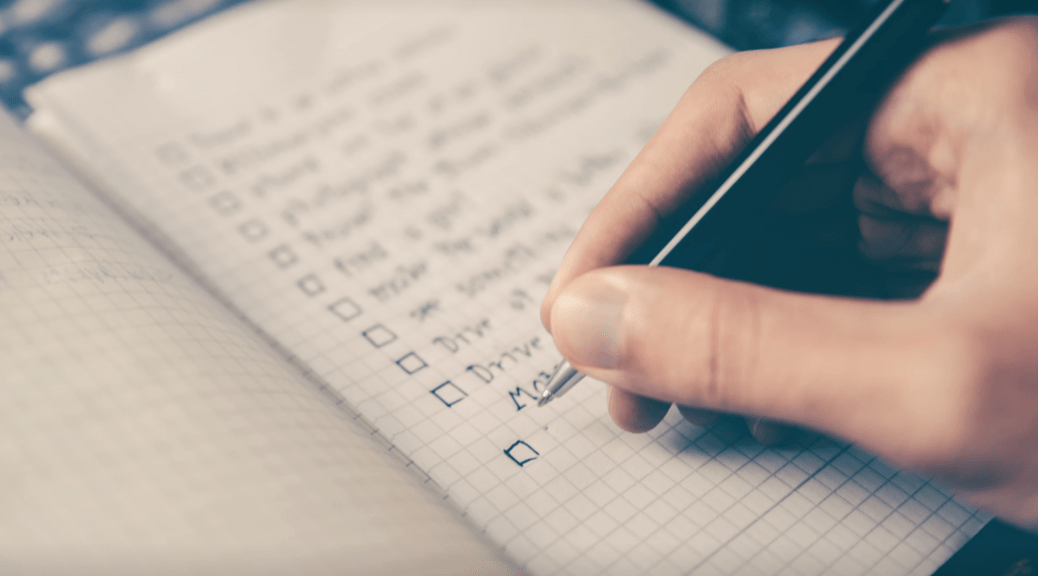 "How Do You Feel About ""To-Do"" Lists–Helpful or Not?"