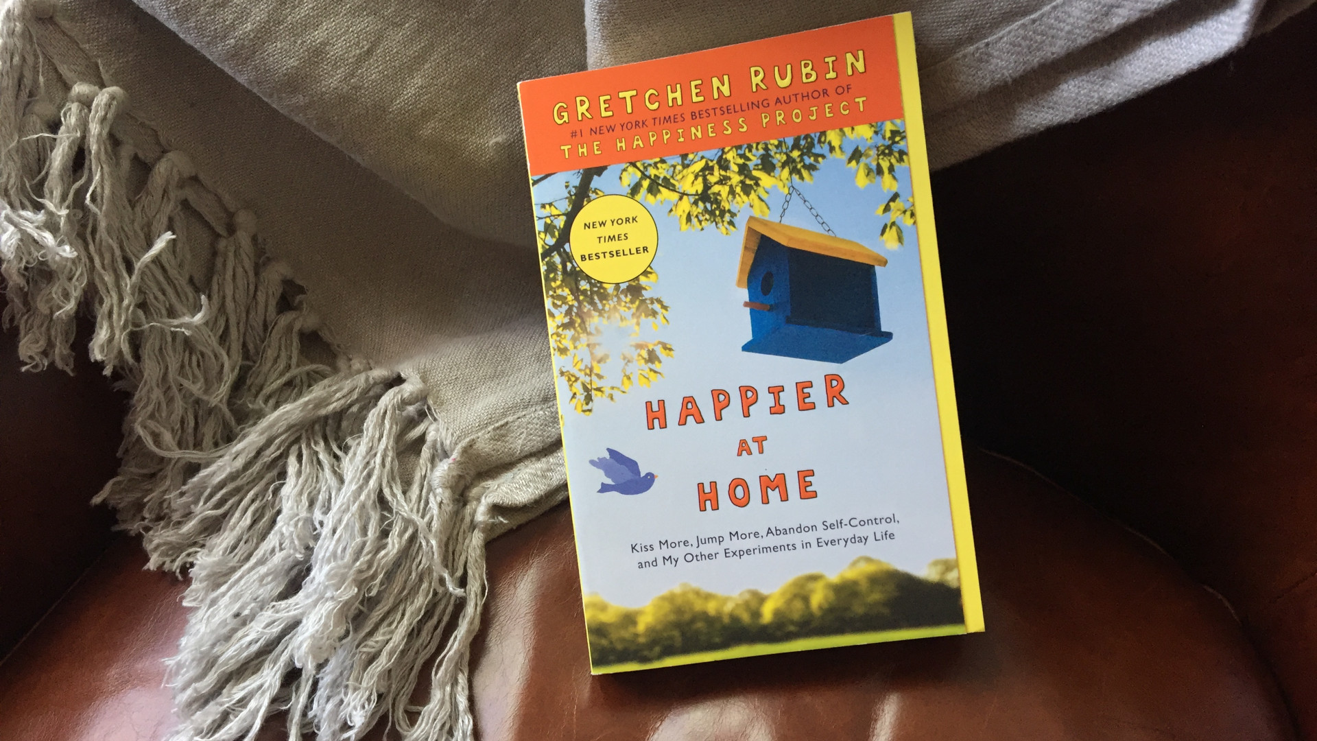 Announcement: I've Re-Recorded the Happier at Home audiobook