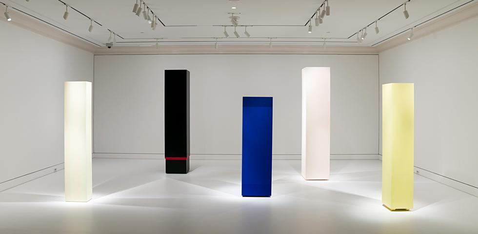 A Little Happier: Artist Anne Truitt Describes Her Moment of Transformation: Enough Blue.