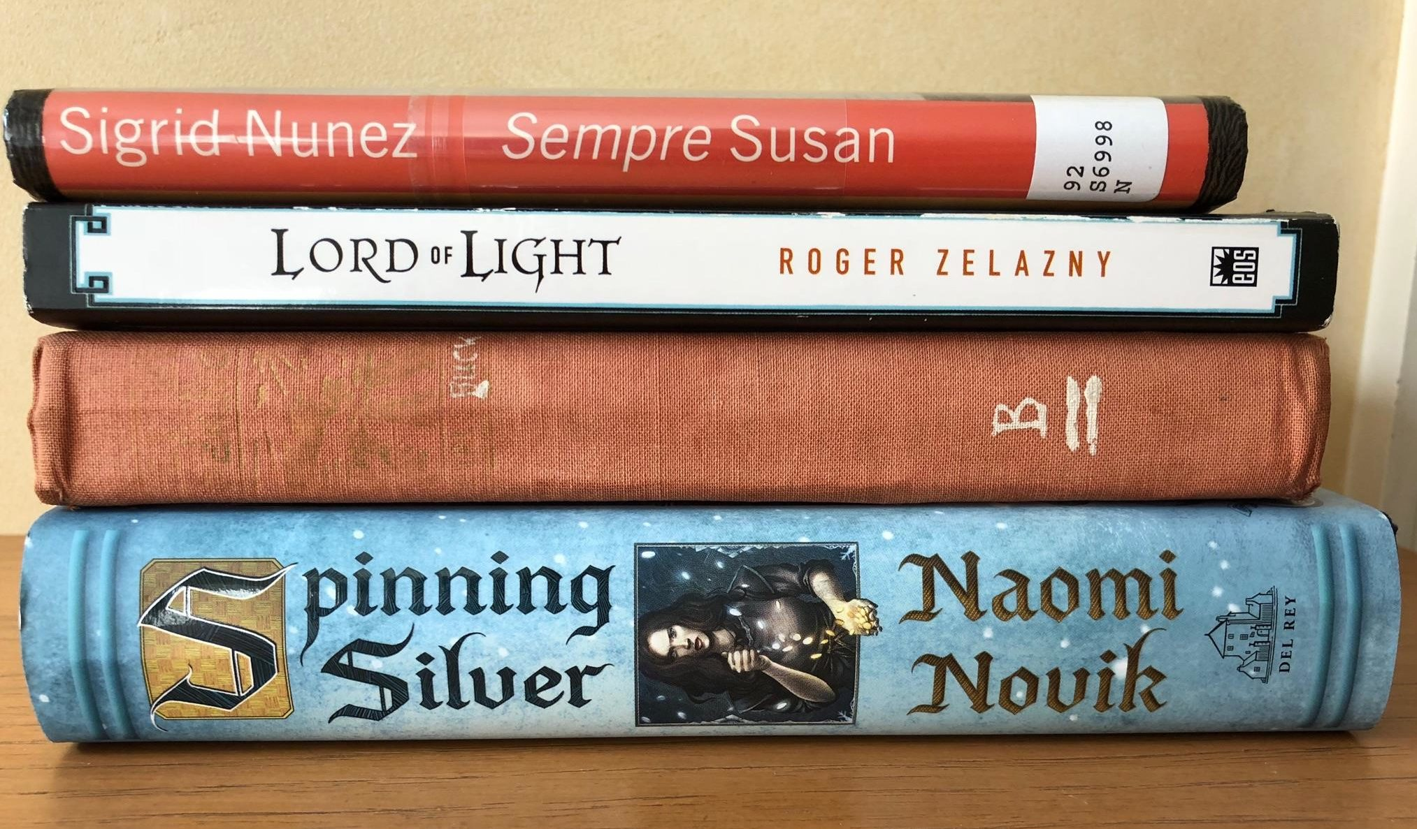 What I Read This Month: August 2018.