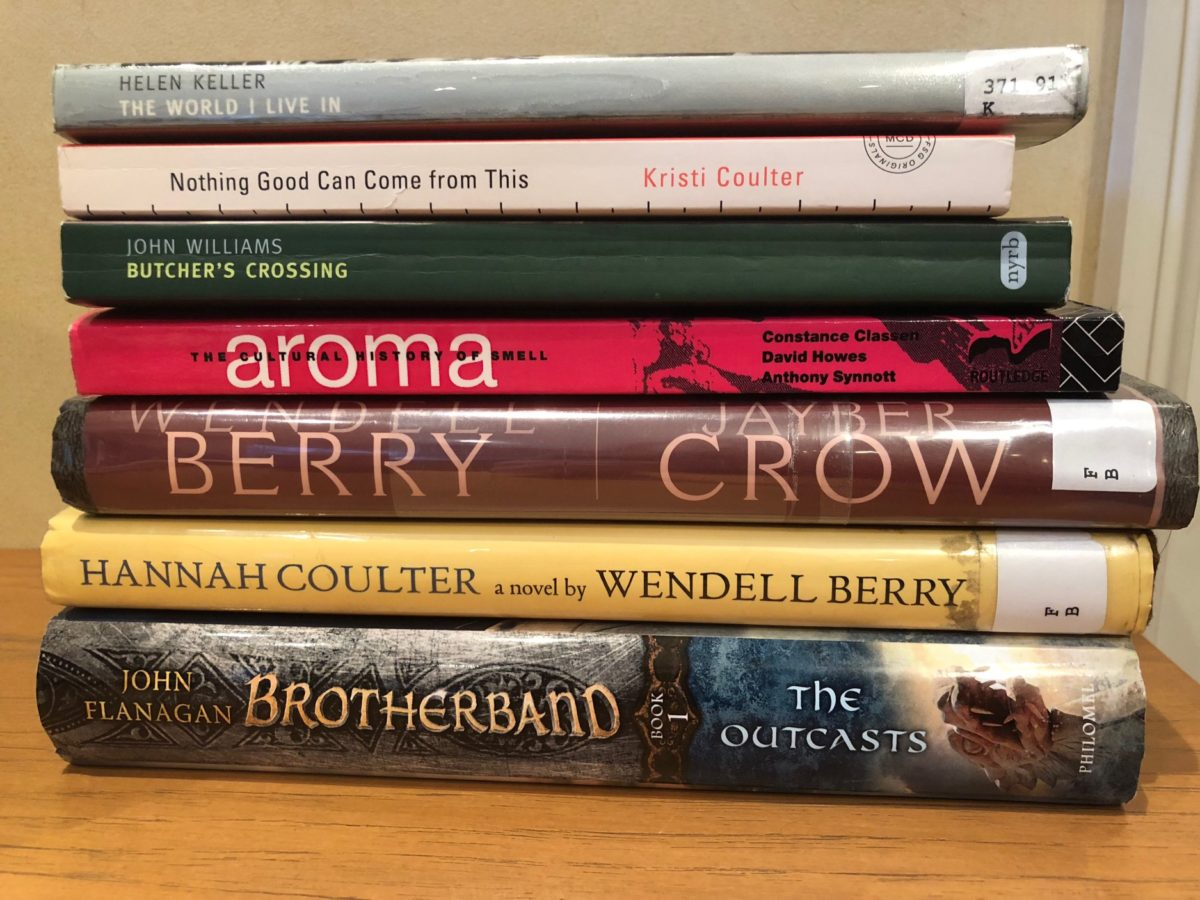 What I Read This Month: October 2018