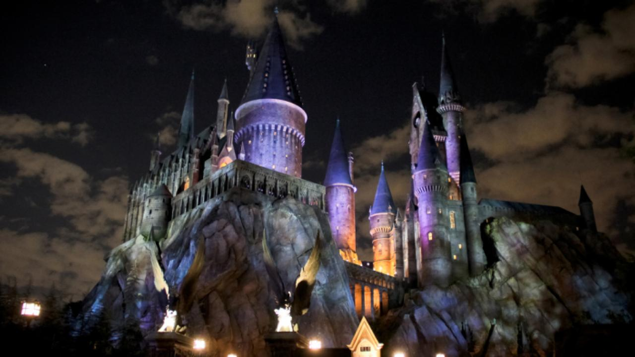 "A Little Happier: The Idea of ""Negative Space"" at the Wizarding World of Harry Potter."