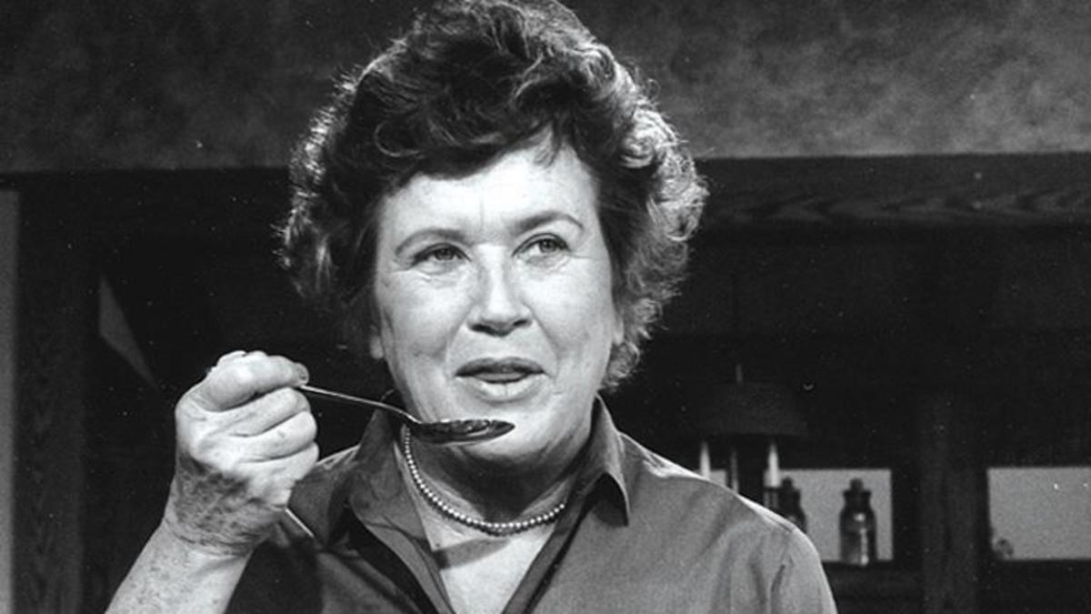 A Little Happier: Julia Child Makes a Profound Observation About Life in the Midst of Flipping a Potato.