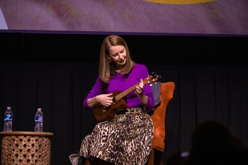 """Playing the ukulele—one of my """"19 for 2019"""" goals"""