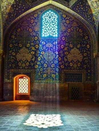 Arabesk süsleme Sanatı örnekleri Isfahan - İran