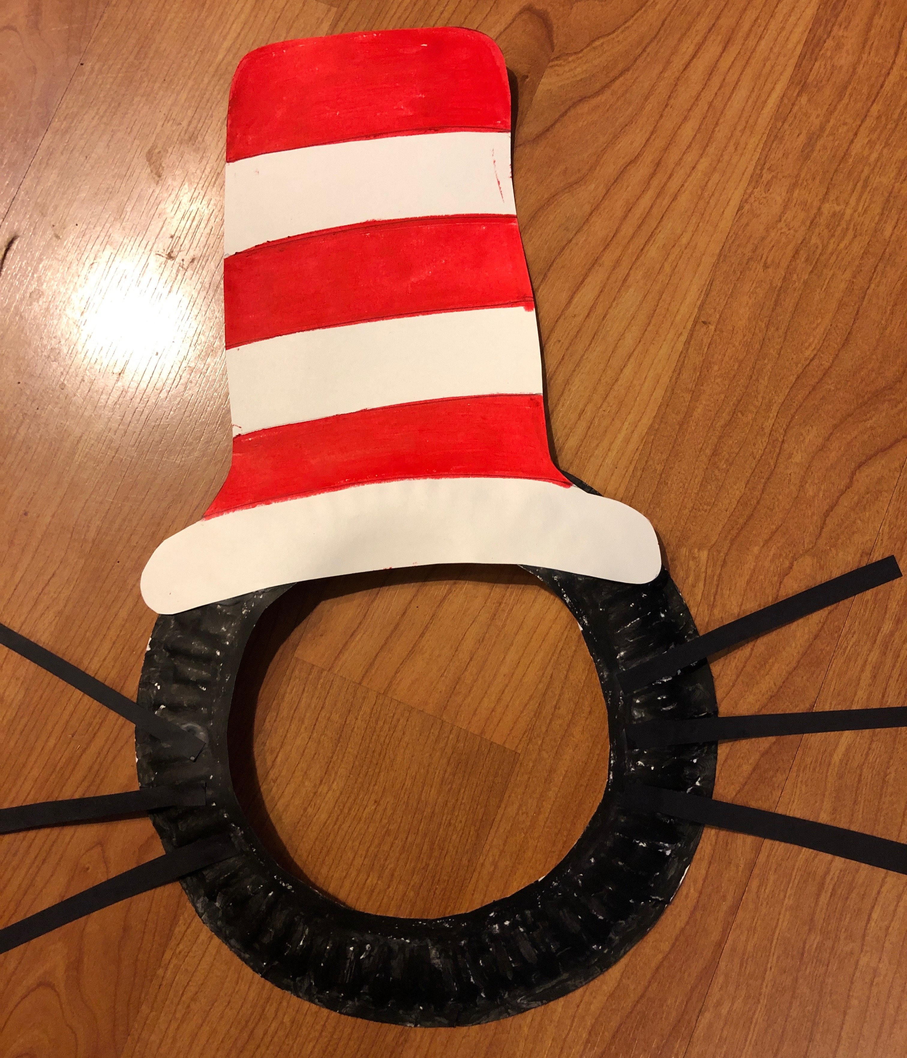 Free Printable Cat In The Hat Cut Out