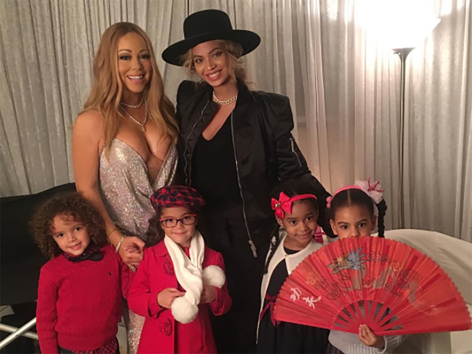 mariah carey s twins meet blue ivy