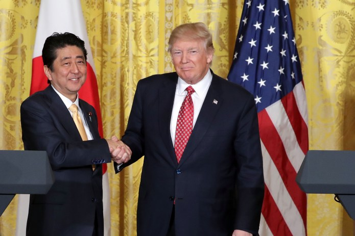 Sorry, Brits: Abe and Trump Have the Real 'Special Relationship ...
