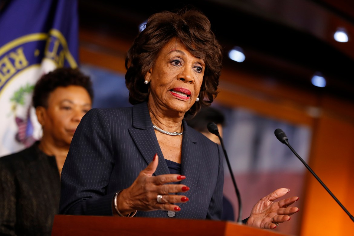 Maxine Waters Tells Supports to Harass Trump Staffers   Time